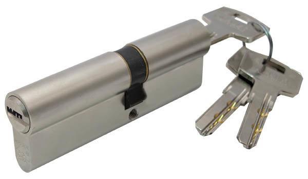 Цилиндр Mauer DC18-E1/E2 41/51=92mm кл/кл никель, 5 кл