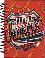 Блокнот Kite Hot Wheels 80 листов А6
