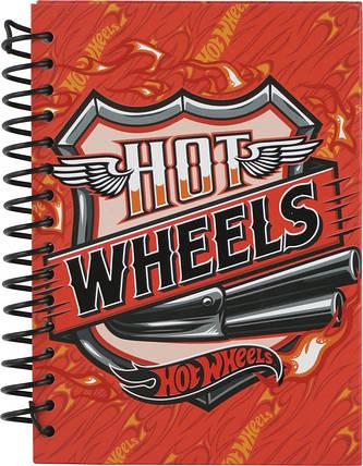 Блокнот Kite Hot Wheels 80 листов А6, фото 2
