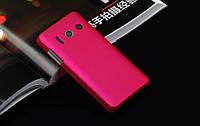 Пластиковый чехол для Huawei U8833 / T8833 Ascend Y300 малиновый