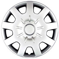 Колпаки на колеса R15 серебро, SJS Dacia Original (314d) - комплект (4 шт.)