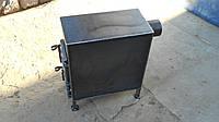 Печка буржуйка 3 - 4 мм для отопления любых помещений и приготовления еды / ручная работа