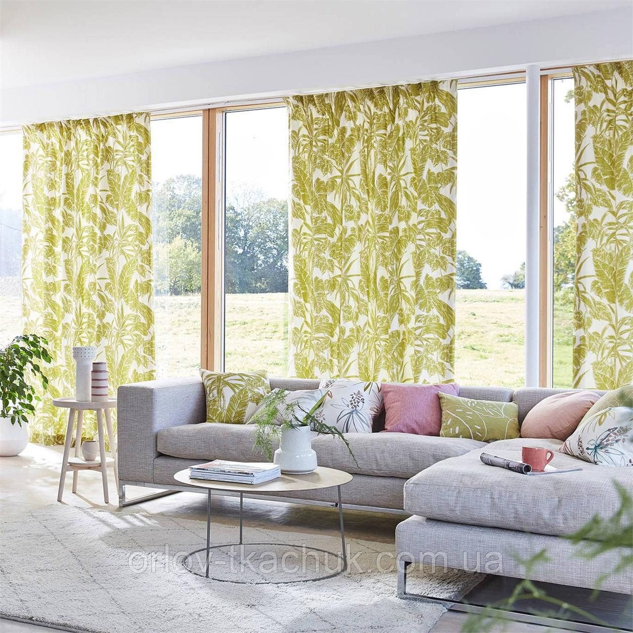Ткань интерьерная Parlour Palm Zanzibar Fabrics Scion