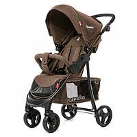 Детская прогулочная коляска Quattro Carrello Китай коричневая CRL-8502