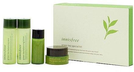 Набор мини версий с экстрактом зеленого чая Innisfree Green Tea Special Kit EX