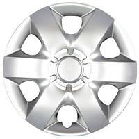 Колпаки на колеса R15 серебро, SJS (310) - комплект (4 шт.)