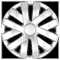 Колпаки на колеса R15 серебро, SJS (315) - комплект (4 шт.)