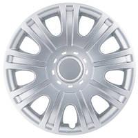 Колпаки на колеса R15 серебро, SJS (319) - комплект (4 шт.)