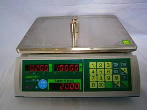 Весы торговые настольные JPL-N 15 кг