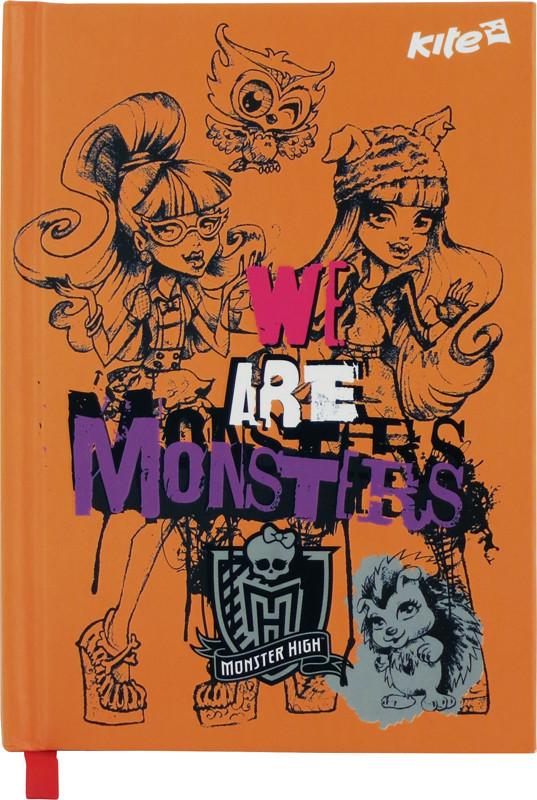 Блокнот Kite Monster High 80 листов А6