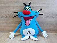 Мягкая игрушка кот Огги из мультфильма Огги и кукарачи
