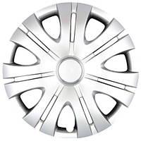 Колпаки на колеса R16 серебро, SJS Toyota Original (408t) - комплект (4 шт.)