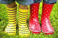 Як вибрати дитячі гумові чобітки?