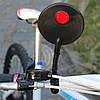 Зеркало на руль заднего вида велосипеда гибкое, фото 4