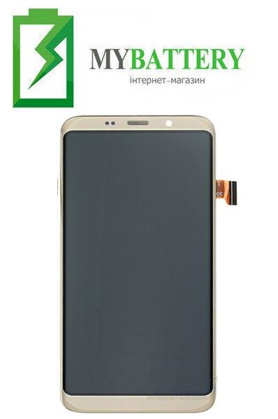 Дисплей (LCD) Bluboo S8 с сенсором золотой