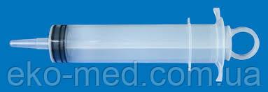 Шприц трехкомпонентный 100 мл конусного типа - Гемопласт (Украина)