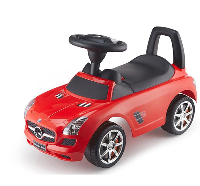 Машинка-каталка MERCEDES SLS AMG с музыкальной панелью (красный)