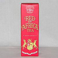 Элитный чай красный ройбуш Red of Africa Tea, TWG, туба 100 г, фото 1