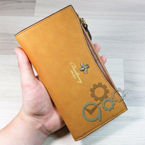 Женский клатч (портмоне, кошелёк) Baellerry Fly  (байлери) Светло-рыжий жіночий гаманець СТИЛЬНЫЙ!