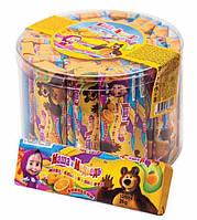 Жевательная конфета Лимбо Маша и Медведь Банка (Saadet)