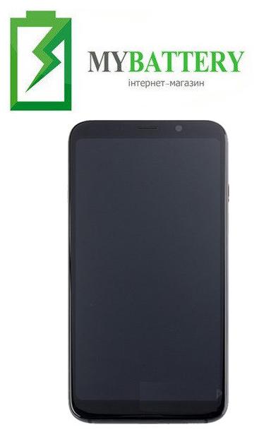 Дисплей (LCD) Bluboo S8 с сенсором чёрный