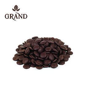 Шоколад чорний в дисках 70 % GRAND
