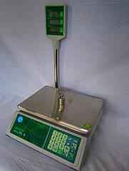 Торговые весы с поверкой JPL 15 (LCD)