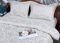 Постельное белье Deco Bianca сатин жаккард 17-06 gri евро