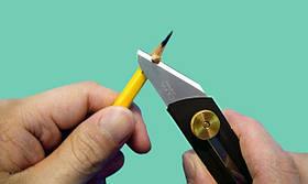 Нож хозяйственный выдвижной. OLFA CK-1, фото 2