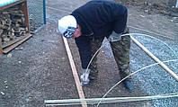 Набор прутов стеклопластиковой арматуры 8 мм. для парника