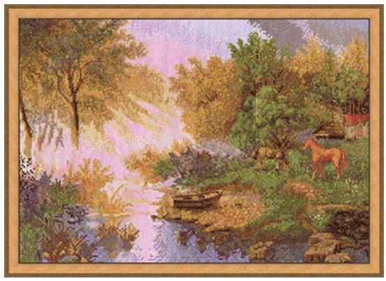 Набір для вишивки хрестом Panna ПС-0987 «В ранкових променях»