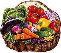Набір для вишивки хрестом Panna ПД-7012 «Овочевий кошик»