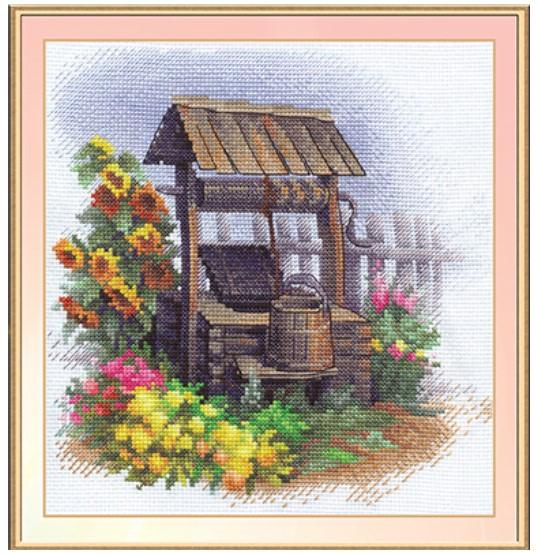 Набір для вишивки хрестом Panna ДЕ-0821 «Старий колодязь»