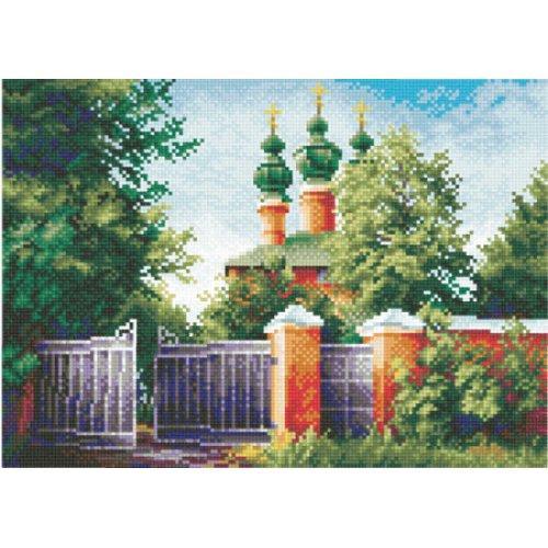 Набор для вышивки крестом Panna ПС-0136 «Красная церковь»