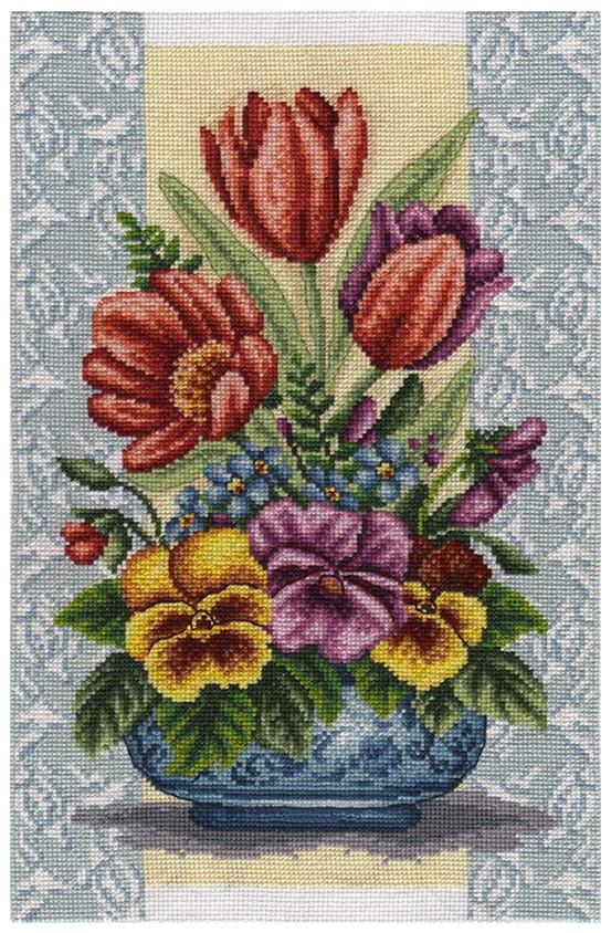 Набір для вишивки хрестом Panna Ц-1698 «Яскрава весна»