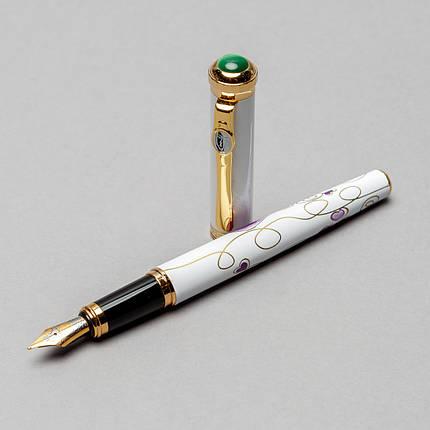 Перьевая ручка Picasso 958-F-WH 138 мм белая, фото 2