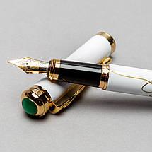 Перьевая ручка Picasso 958-F-WH 138 мм белая, фото 3