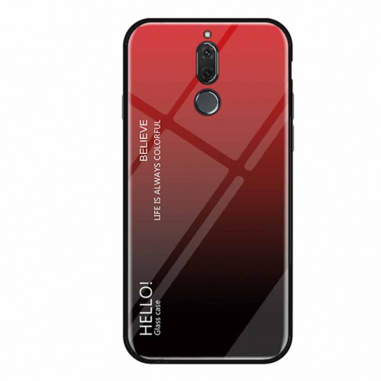 TPU+Glass чехол Gradient HELLO для Meizu M6T