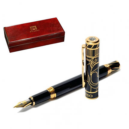 Перьевая ручка PICASSO 80С 137 мм чёрная, фото 2