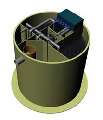 Станція біоочистки BIOPLANT (Classic) в поліпропіленовому корпусі (монтаж в з/б колодязі)