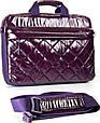 Женская сумка для ноутбука Continent CC-072 фиолетовая, фото 3