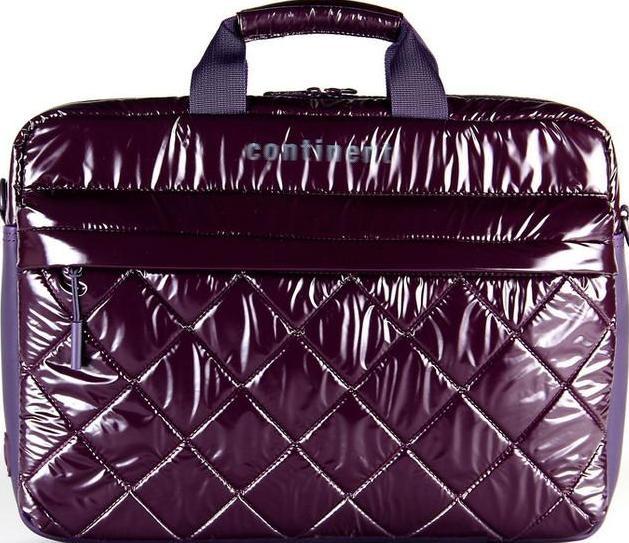 Женская сумка для ноутбука Continent CC-072 фиолетовая