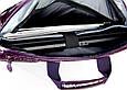 Женская сумка для ноутбука Continent CC-072 фиолетовая, фото 6