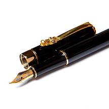 Перьевая ручка Crocоdile 200041 чёрная, фото 2