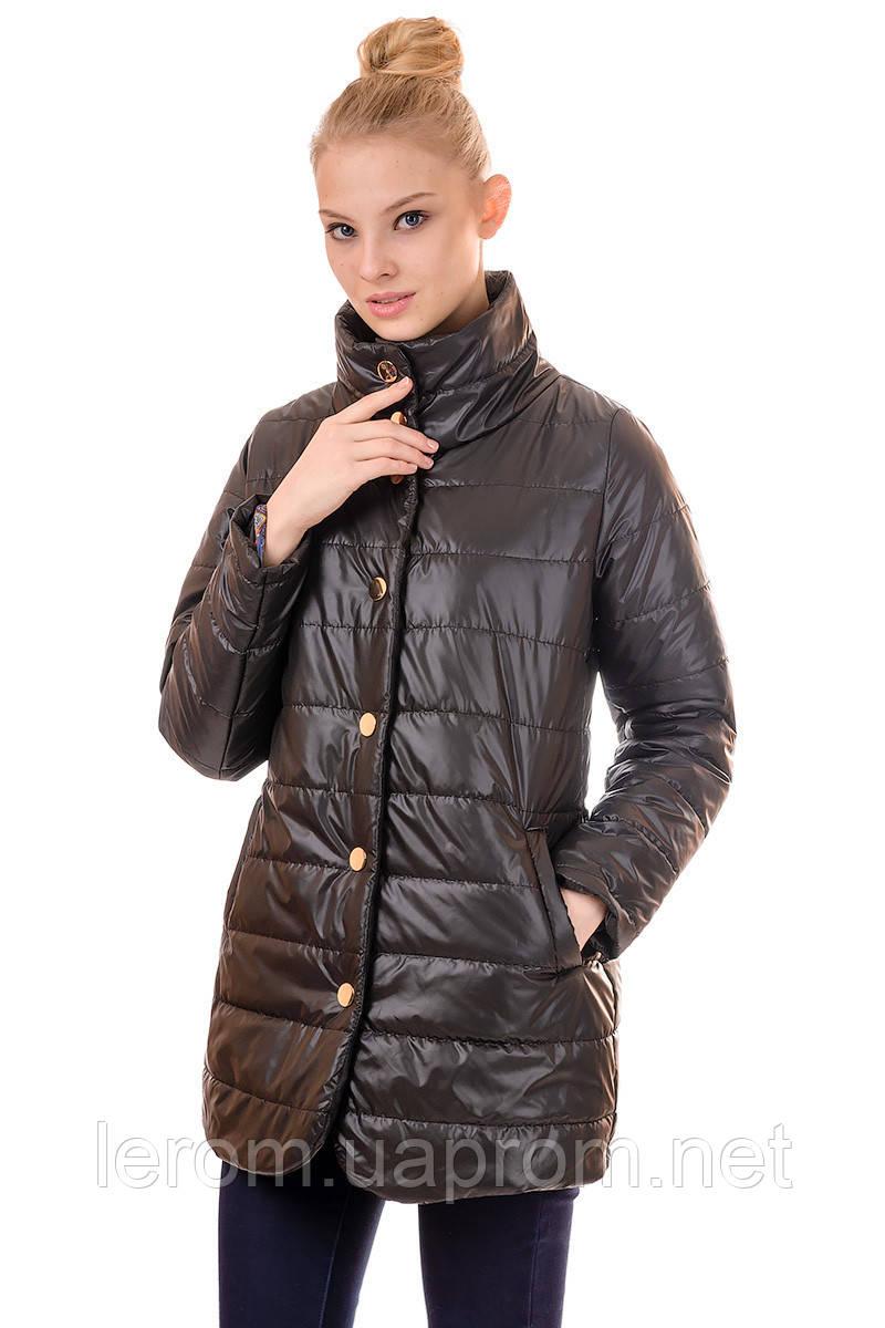58d53346b809 Купить Плащ женский демисезонный F102 (чёрный) в Харькове от ...