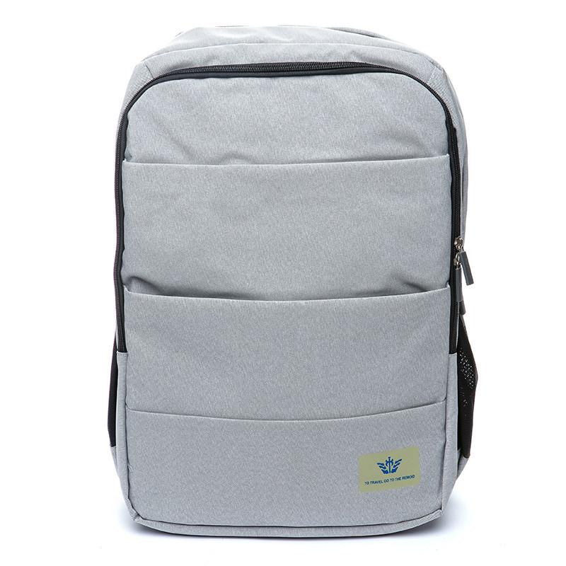 Рюкзак мужской городской светло - серый