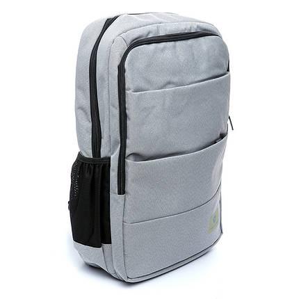 Рюкзак мужской городской светло - серый , фото 2