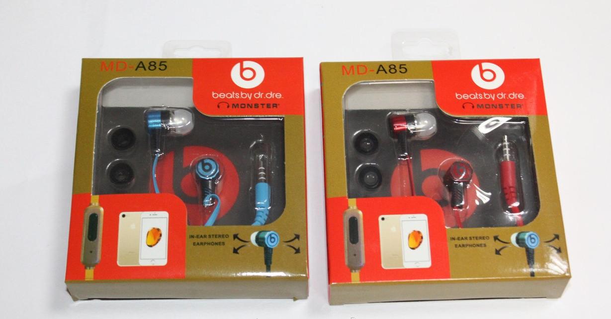 Наушники вакуумные BEATS MD-A85 с микрофоном