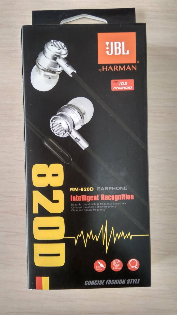 Наушники вакуумные JBL 820D HARMAN KARDON