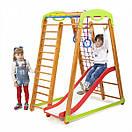 Акция! Деревянный детский  Спортивный комплекс для малышей от 2-х лет «Кроха - 2 Plus 1», фото 5